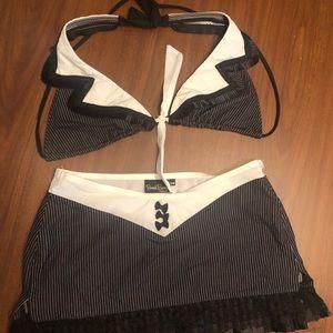 Beach Bunny Tuxedo Swimwear